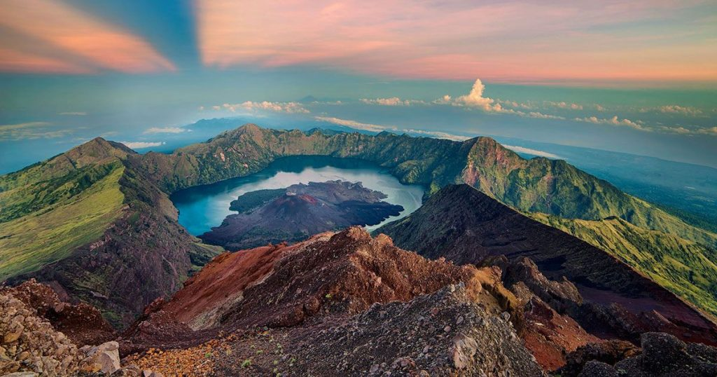 Mount Rinjani_Pinterest