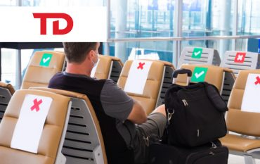 Airport-Social-distancing